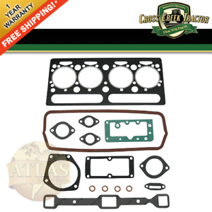 746051m91 New Massey Ferguson Tractor Top Gasket Set 65 302 304 A4 203