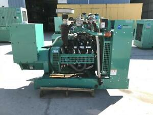 _150 Kw Cummins Onan Generator 12 Lead Reconnectable Only 125 Hours