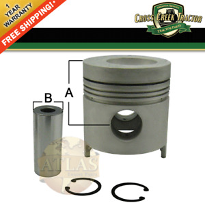 D6nn6108p New Ford Tractor Piston 4 2 030 For Diesel Engines
