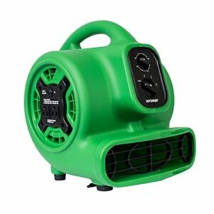 P 230at Multi Purpose Mini Mighty Air Mover Utility Fan Dryer Blower With Power