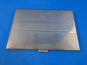 Volupte Sterling And Enamel Cigarette Case Gross 5 Ounces
