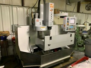Used 2005 Haas Tm 1 Cnc Vertical Machining Center Mill 10 Station Atc Rigid 16mb