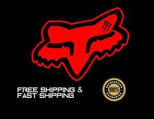 Fox W Monster Energy Car Vinyl Decal Sticker Red 3