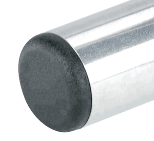 Round Pipe Plugs For Steel Pipe Round End Cap Blanking Plugs various Sizes