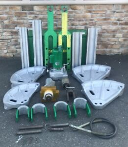 Greenlee 881 Pipe Bender W 960 Hydraulic Pump 881ct 2 1 2 4 Rigid Imc Emt