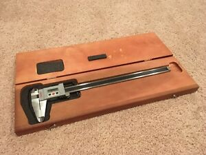 Starrett No 723 0 12 0 300mm Digital Caliper Vernier With Case Free Shipping