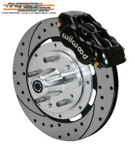 Wilwood 65 69 Ford Mustang Falcon Cougar 12 19 Front Disc Brakes 140 11072 d