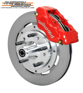Wilwood 65 69 Ford Mustang Falcon Cougar 12 19 Front Disc Brakes 140 11072 r