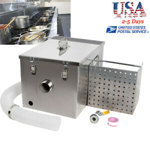 2018 Grease Trap Interceptor Set For Restaurant Kitchen Wastewater Removable
