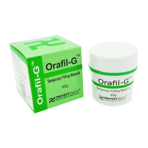 3 X Dental Permanent Tooth White Filling Cement Mega Kit Self Cure Orafil G