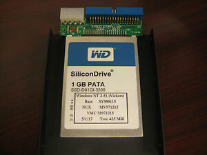Tree Mill Cnc New Solid State 1gb Hard Drive For Acramatic A2100 Control
