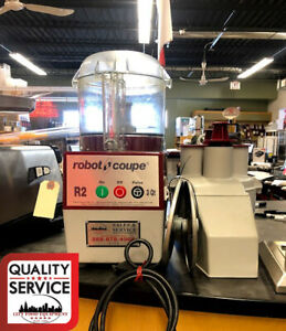 Robot Coupe R2 Used Commercial Food Processor With Bowl And Attachments