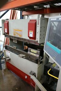 Reduced 2008 Accurpress Press Brake 4 Ft 48 25 Ton With Ets3000 Controller