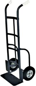 Milwaukee Dual handle Hand Truck Rubber 2 wheels Heavy Duty Metal Frame Steel