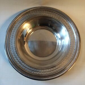 International Silver Company Serving Bowl Dish Tray 12 5 Inches Handcrafted