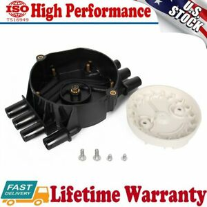 Distributor Cap And Rotor Kit 3d1062 For Chevrolet S10 Express 2500 4 3l V6 New