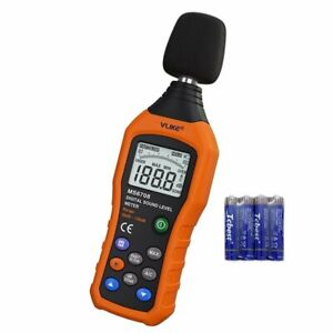 Vlike Lcd Digital Audio Decibel Meter Sound Level Meter Noise Level Meter Sou