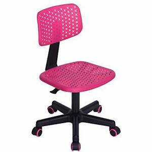 Children Student Desk Chair Low back Armless Adjustable Swivel Office Ergonomic