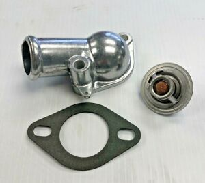Chevrolet Water Neck Housing With Thermostat 180 Deg Sbc 327 350 383 New