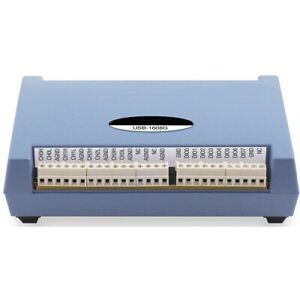 Usb 1608g Usb Daq With 16 Single ended Or 8 Differential Analog Inputs 250 Ks s