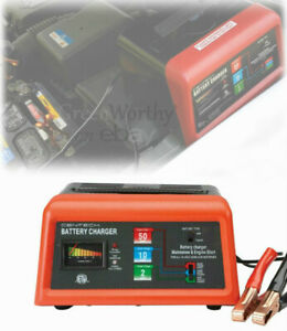 Portable 12v Car Battery Charger Jump Starter Box For Auto Truck Boat Tractor