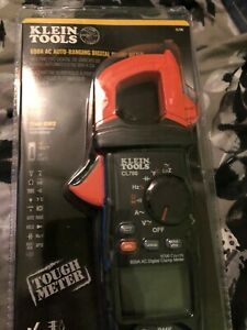 Klein Tools600 Amp Ac True Rms Auto ranging Digital Clamp Meter With Temp