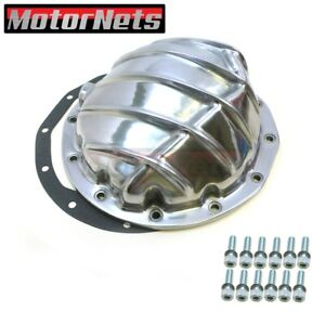 Aluminum 1964 72 Chevy Gm Rear Differential Cover 8 8 75 Rg 12 Bolt Polished
