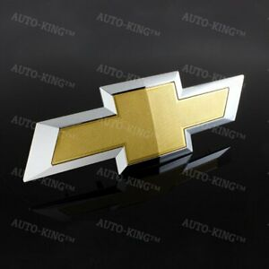 For 2016 2018 Chevy Chevrolet Silverado 1500 Front Grill Bowtie Emblem 23236301