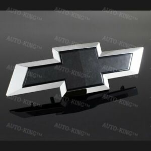 For 2015 2017 Gm Chevy Colorado Black Front Bowtie Bow Tie Emblem