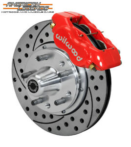 Wilwood 70 73 Mustang Maverick Cougar 11 Front Disc Brake Kit 140 11073 Dr