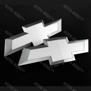 For 2016 2018 Chevy Chevrolet Silverado 1500 Front Tailgate Bowtie Emblem