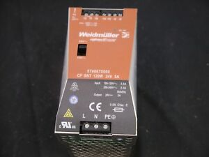 Weidmuller Connectpower Power Supply 8708670000 Cp Snt 120w 24v 5a