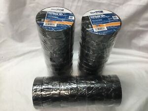 lot Of 30 Shurtape Ev 057 Ul Listed Electrical Tape Black 3 4in X 60ft