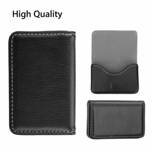 90pcs Pocket Leather Business Id Credit Card Holder Case Wallet W magnetic Shut