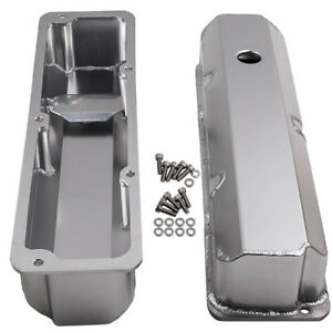 For Ford Fe 390 427 428 Stain Oxidation Valve Covers 3 7 8 Tall W Bolts Pair