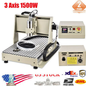 Ac110v 50hz Mini Cnc Router 6040t Engrave Machine 304 Stainless Steel 24000 Rpm