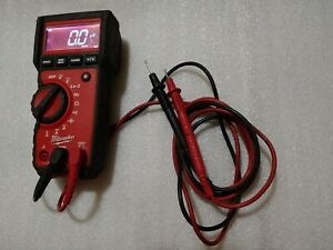 Milwaukee 2217 20 True Rms Multimeter Millivolts Mill Volt Amp Uf V A Hvac