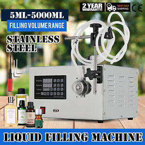 Lt 1 220v Auto Filler Liquid Filling Machine Counting High Precision 5 5000ml