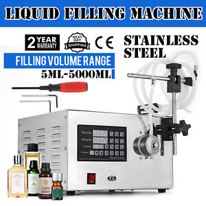 5 5000ml Digital 220v Liquid Filling Machine Filler Manual 2 Modes Perfume