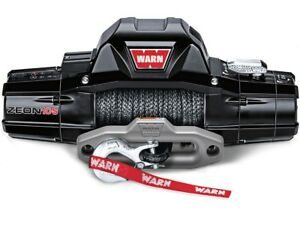 Warn Zeon 10 S Recovery Winch With Spydura Synthetic Rope 89611 New In Box