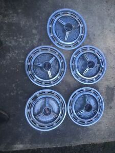 1965 1966 Impala Ss Spinner Hubcaps 1965 Chevy Ii 14 Inch Ss