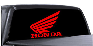 Honda Rear Window Decal Chevy Graphic For Truck Suv