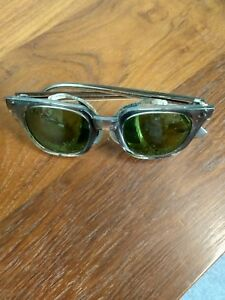 Crews Engineer Tinted Metal Safety Glasses Side Shield Steampunk Vintage