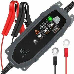 Autoxel Car Battery Charger Battery Maintainer 12v 6v 3 8a 8 Modes Charger Maint