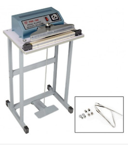 110v 12 Foot Pedal Impulse Sealer Heat Seal Machine