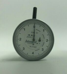 Interapid 0001 Vertical Dial Test Indicator 312b 3v
