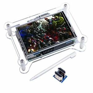 Kuman Tft Touch Screen 3 5 Inch Tft Lcd Display Monitor With Protective Case Su