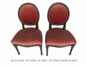 Pair Of Antique French Louis Xvi Style Chairs 10899