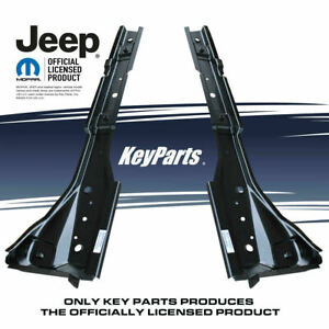 Jeep Wrangler Tj 97 06 Metal Full Body Mounts Torque Boxes Floor Supports Pair
