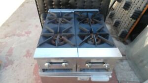 Commercial Stove 4 Burners